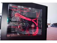 High-end gaming PC - R9 390X - i7 6700k - Water Cooled!