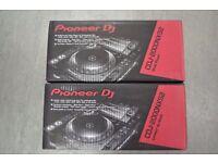 Pioneer CDJ2000NXS2 Pair Of DJ Decks £3700