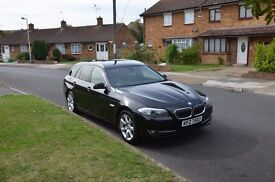 Bmw 520d black estate.perfct condition as new
