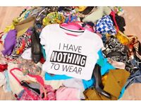 Topshop, Riverisland and Zara clothes