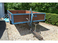 Wheatley 3 ton farm tipping trailer
