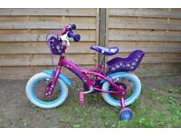For sale 14'' Puppy Bike with stabilisers, VGC, ��30 no offers pls