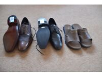A SELECTION OF MEN'S SHOES
