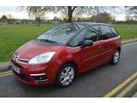 NEW TYRES, BREAK PADS & DISC,2013 CITROEN C4 PICASSAO 1.6 E-HDI 100 A/D PLATINUM,MPV,AUTO,DIESEL,RED