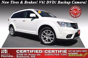 2013 Dodge Journey SXT New Tires & Brakes! V6! DVD! Backup Camer