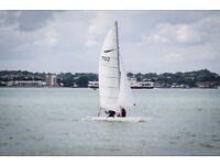 Dart 18 Catamaran sail no. 7512