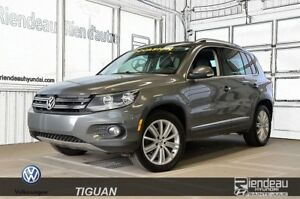2014 Volkswagen Tiguan Highline + TOIT PANORAMIQUE + BLUETOOTH