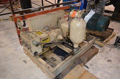 Wheatley P-200-b Tri-plex Plunger Type Pump Wreeves Variable Speed Drive