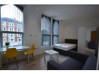 Spacious studio apartment to rent on London Road, LE2!!