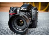 Nikon D7000 + Nikkor 35mm f1.8G great condition - low shutter count (19%)