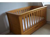 Mammas & Pappas Ocean Cot / Day Bed (Golden Oak)
