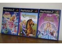 Barbie PS2 Games, Various