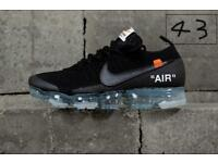 "Brand new ""off white""Nike vapormax 6-11"