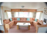 -LAST ONE AT THIS -GREAT STARTER CARAVAN AT SOUTHERNESS near dumfries carlisle,penrith keswick