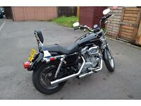 2006 Harley Davidson Sportster XLH, 1200 conversion (883) Professionally Done.