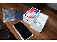 iPhone X 256GB, Space Gray, UNLOCKED!