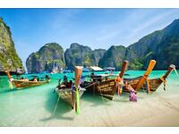2X flight tickets to Phuket Thailand from Manchester airport 27th dec - 11th jan