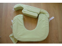 Breast feeding pillow support