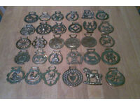 Collection of Horse Brass 30 in Total Job Lot