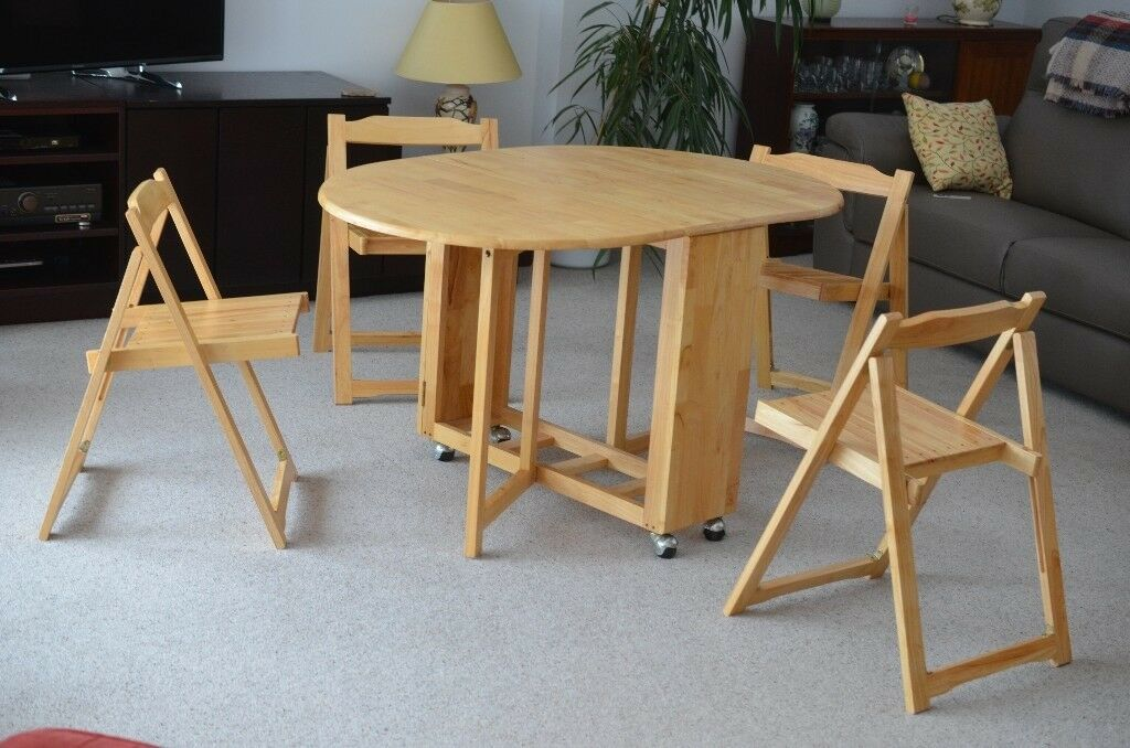 John Lewis Butterfly Drop Leaf Folding Dining Table And
