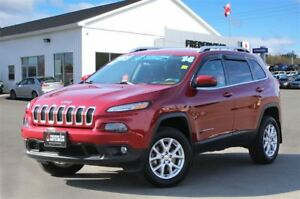 2014 Jeep Cherokee NORTH! REDUCED! 4X4! HEATED SEATS! NAV! ONLY