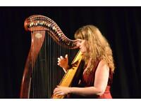 PIANO and/or CELTIC HARP LESSONS with PRO musician/composer/teacher
