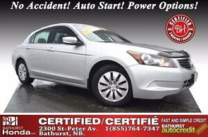 2010 Honda Accord Sedan LX Certified! No Accident! Auto Start! P