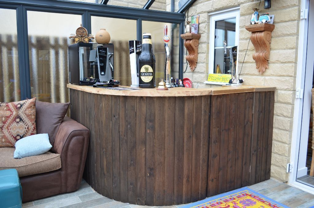 Home Corner Bar Pub Man Cave For Sale With Everything