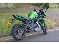 Kawasaki ER6F 2016 ABS 650cc - 11,720 miles - 20 months warranty