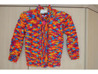 Girls multicolored Cardigan size 4-5 years