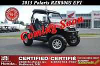 2013 Polaris RZR 800S EFI Hard Top! Windshield! Mag Wheels!