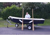 Corsiva 363 Fishing/Tender Boat Excellent Condition With a Trailer And Outboard