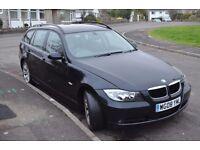 BMW 3 Series estate, Alloy wheels, Full leather interior, remote locking, good condition.