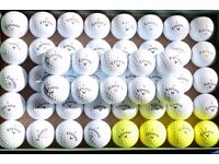 50 used Callaway golf balls - good condition