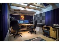 Record your music in a professional studio with experienced engineer/producer