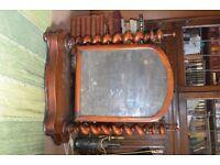 victorian mirror for restoration