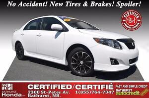 2010 Toyota Corolla S Certified! No Accident! New Tires & Brakes