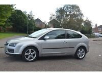 Ford Focus 1.8 Zetec Climate 3 Doors Rare 12 Months MOT Great Condition, New Tyres, Low Mileage 63k