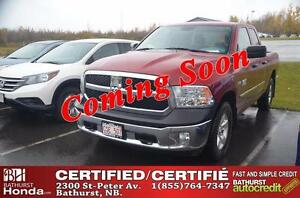 2014 Ram 1500 ST Certified! 4WD! V8 Hemi 5.7L - 395hp! Low KM's!