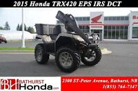 2015 Honda TRX420 DCT IRS EPS Electric Power Steering! Dual Clut