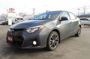 2014 Toyota Corolla S FWD 1.8L HEATED LEATHER