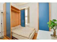 Self-contained studio with beautiful common garden in Earl's Court, Central London