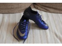 Nike Merculiar CR7 football boots, UK size 4