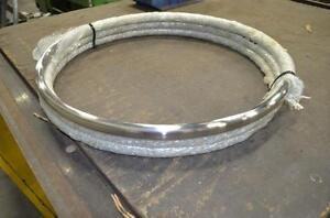 """Stainless Steel Rings 24"""" OD x 3/4"""" solid"""