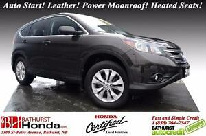2014 Honda CR-V EX-L AWD Auto Start! Leather! Power Moonroof! He