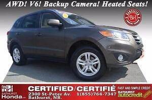 2012 Hyundai Santa Fe Certified! AWD! V6! Backup Camera! Heated