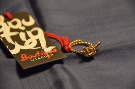Jaeger Boutique gold ring. Adjustable size.