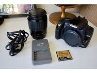 Canon EOS 350D Digital SLR Camera + EF 80-200mm Lens + 2GB CF Card