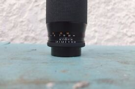 CARL ZEISS SONNAR 135MM 2.8 TELY LENS.ALMOST MINT THROUGHOUT.