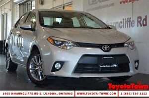 2014 Toyota Corolla LE PREMIUM PACKAGE LEATHER ALLOYS & MOONROOF
